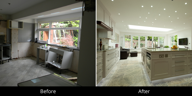 house refurbishments in telford before and after