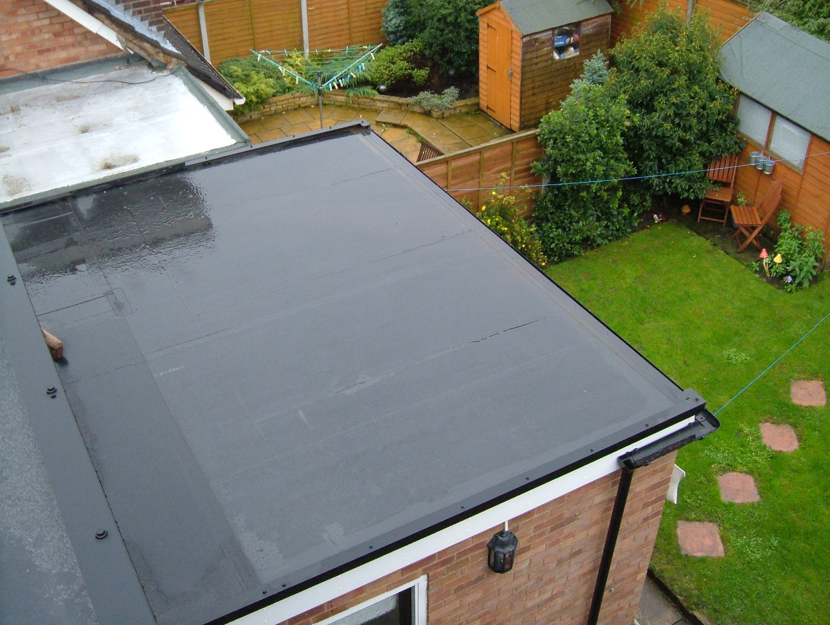 epdm rubber roofing in telford for extensions