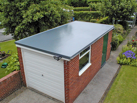 epdm rubber roofing in telford for garages