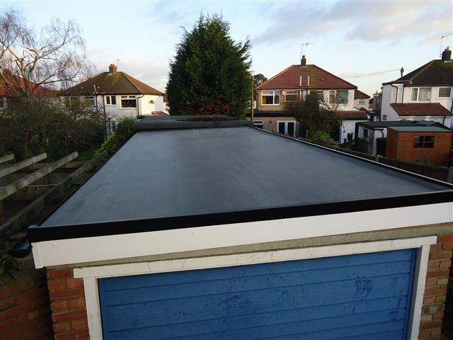 EPDM RUBBER ROOFING SERVICES IN TELFORD